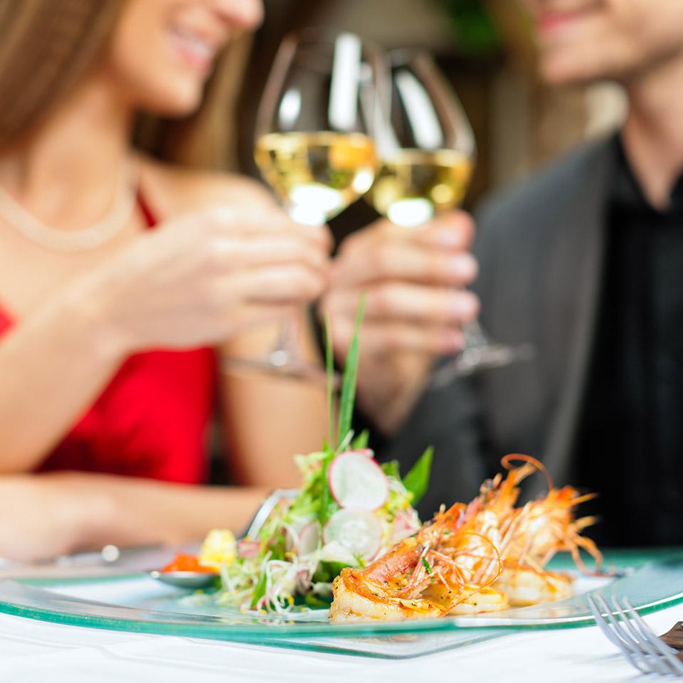 services diner romantique